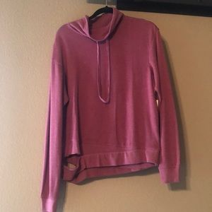 burgundy thorn zella hoodie, never worn